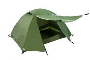 Green Clostnature Lightweight 2-Person Backpacking Tent