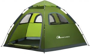 Moon Lence Instant Pop-Up Tent Green/Gray