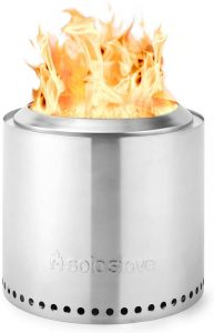 Stainless steel fire pit cylinder