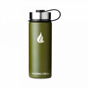 HYDRO CELL Green Stainless Steel Water Bottle