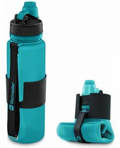 Nomader 22-Oz Collapsible Water Bottle