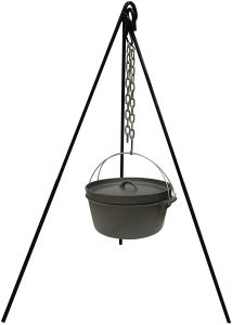 Camping tripod for Dutch ovens
