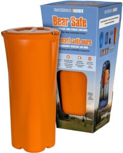 Bear resistant food container