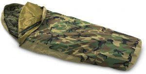 Camouflage bivvy sack