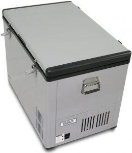Whynter FM-85G 85 Quart Portable Fridge gray with handles